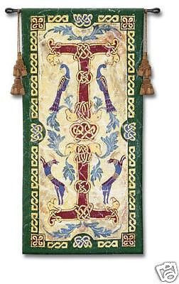 25x53 CELTIC DESIGN II Ireland Tapestry Wall Hanging