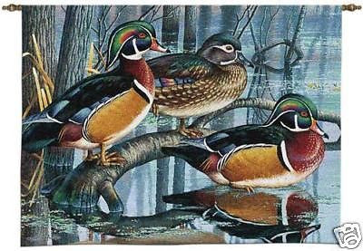 34x26 WOOD DUCK Wall Hanging