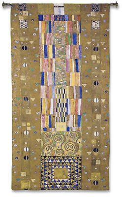 52x28 FREGIO STOCKLET Klimt Tapestry Wall Hanging