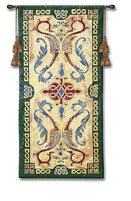 25x53 CELTIC DESIGN I Ireland Tapestry Wall Hanging