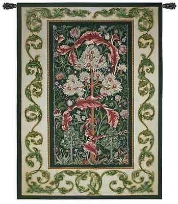 82X60 ACANTHUS William Morris Forest Floral Tapestry Wall Hanging