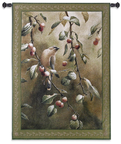 38x53 CHERRY CHASE Tapestry Wall Hanging