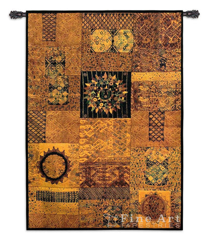 37x53 GUATEMALA Abstract Tapestry Wall Hanging