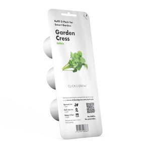 Click and Grow Refill 3-Pack - Garden Cress