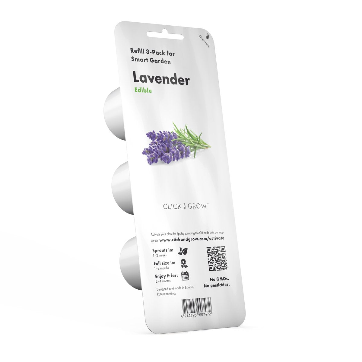 Click and Grow Refill 3-Pack - Lavender