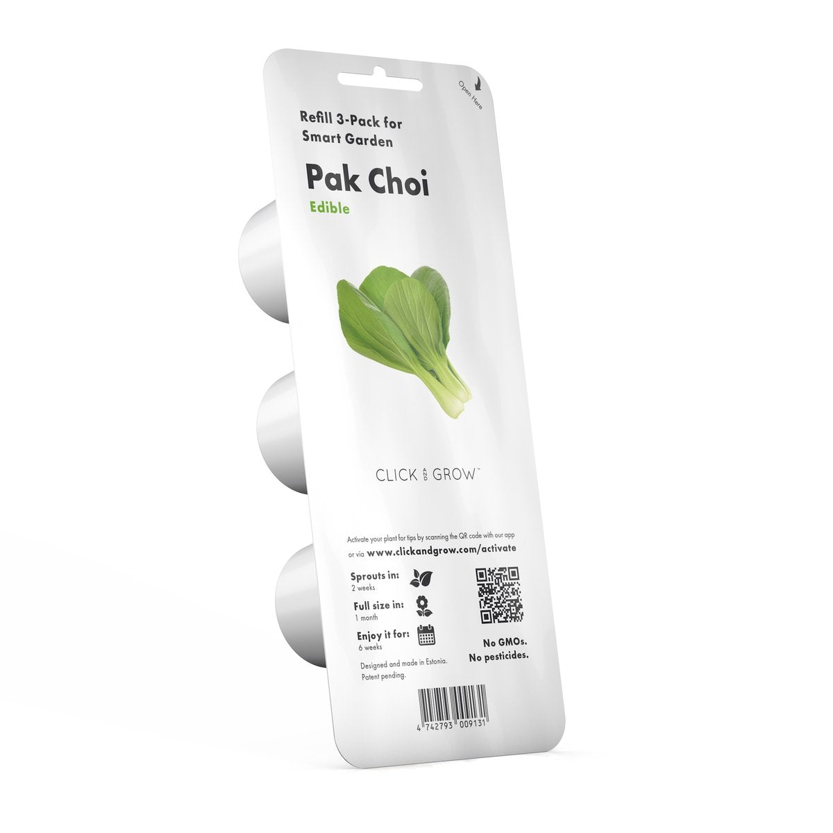 Click and Grow Refill 3-Pack - Pak Choi