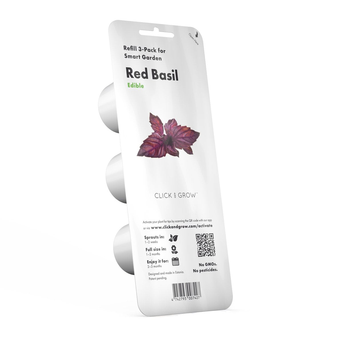 Click and Grow Refill 3-Pack - Red Basil
