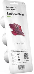 Click and Grow Refill 3-Pack - Red Leaf Beet