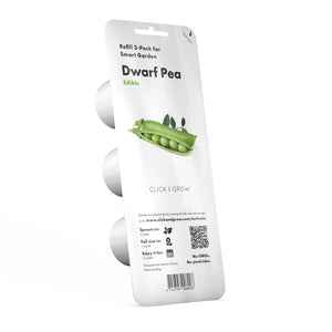 Click and Grow Refill 3- Pack - Dwarf Pea