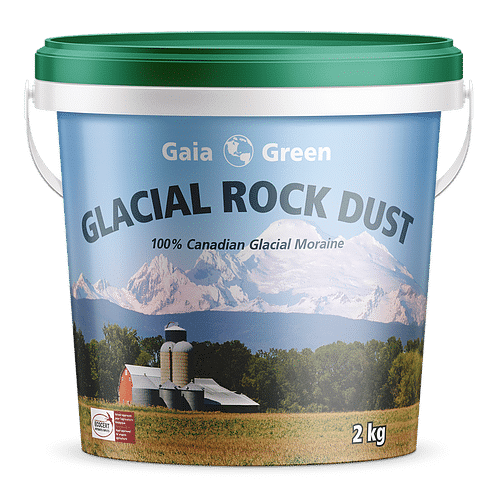 Gaia Green Glacial Rock Dust 100% Canadian Glacial Moraine 2kg