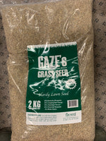 Gaze's Grass Hardy Lawn Seed 2kg, 800 Square Feet