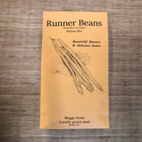 LOCAL Runner Beans 'Motion Mix'
