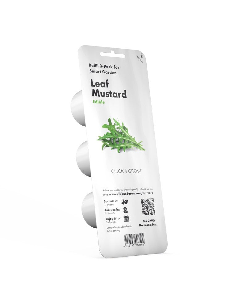 Click and Grow Refill 3- Pack - Leaf Mustard
