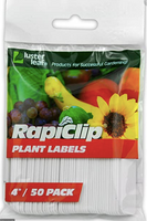 "Plant Labels 4"" /  50 pack"