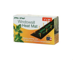"Jump Start Seedling Heat Mat Windowsill 3"" x 20"""
