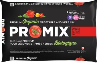 Pro Mix premium Organic Vegetable and Herb Mix Soil 85L extra large bag