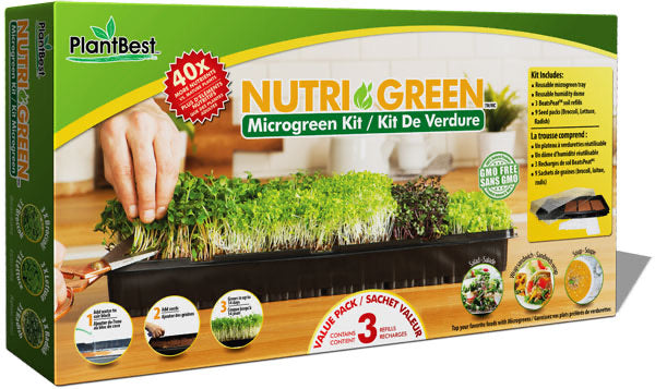 Nutri Green Microgreen Kit