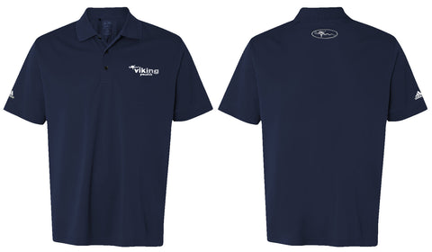 Viking Yachts Mens Adidas Polo Shirt - Navy