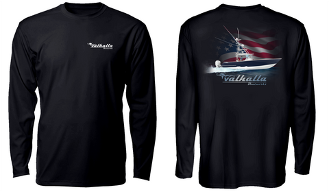 Valhalla Long Sleeve Performance Tee