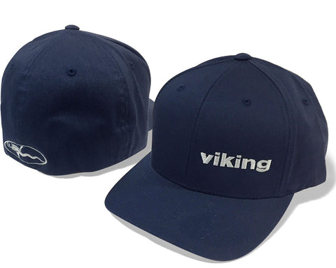 Viking Yachts Navy Cotton Twill Cap