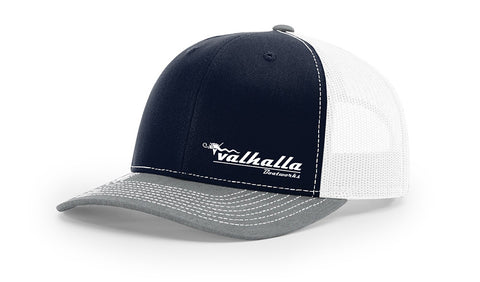 Valhalla Trucker Hat - Navy