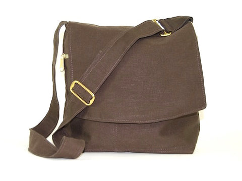 Organic Hemp Messenger Bag