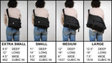 XS Black Boss, clearance (second) - CourierWare Messenger Bags  - 6