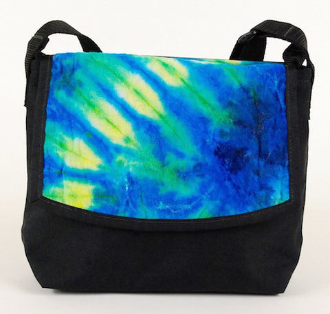 Micro Courier Bag, Tie Dye - CourierWare Messenger Bags  - 1