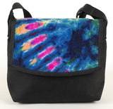 Micro Courier Bag, Tie Dye blues - CourierWare Messenger Bags  - 1