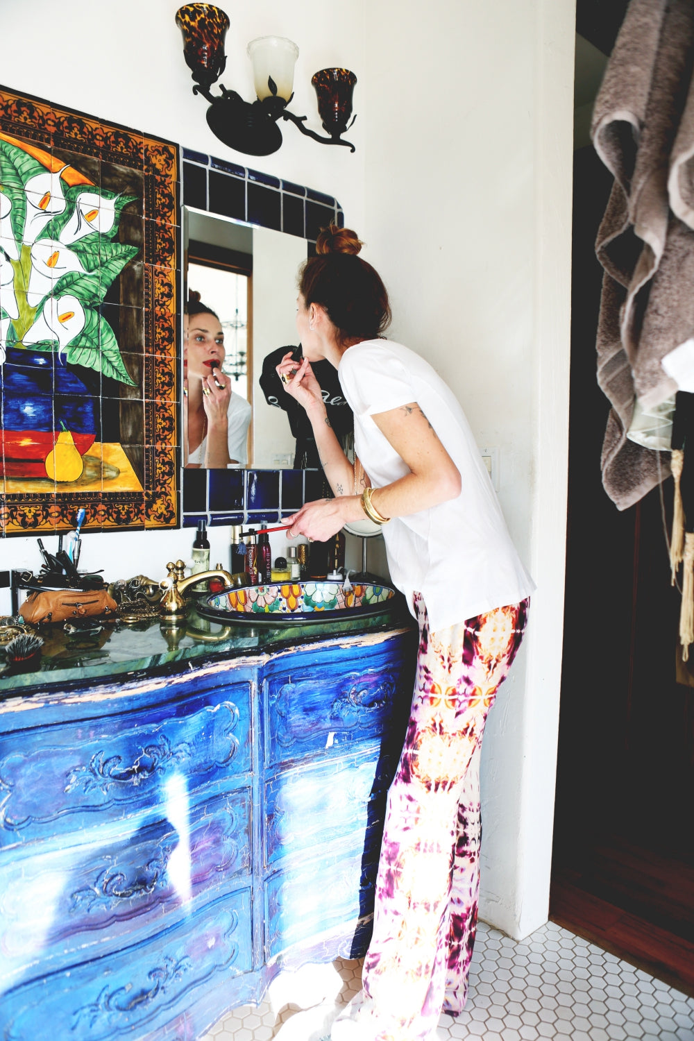 At Home With Erin Wasson Rat Boa