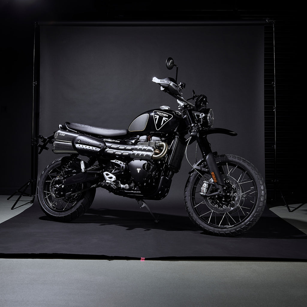 Triumph Scrambler Bond Edition