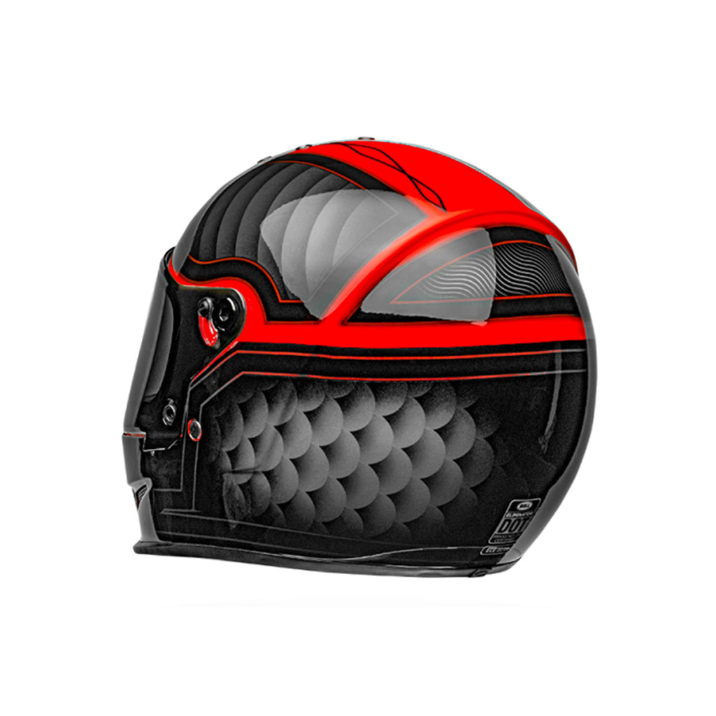 Шлем Eliminator Outlaw Black/Red