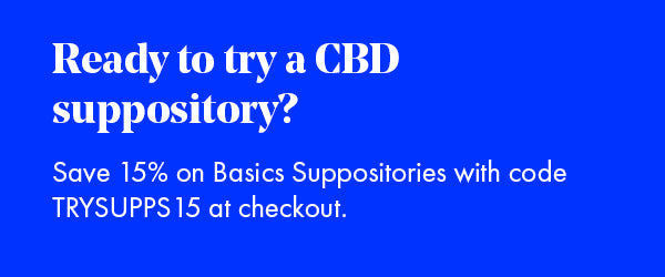 Save 15% on Foria's CBD Suppositories