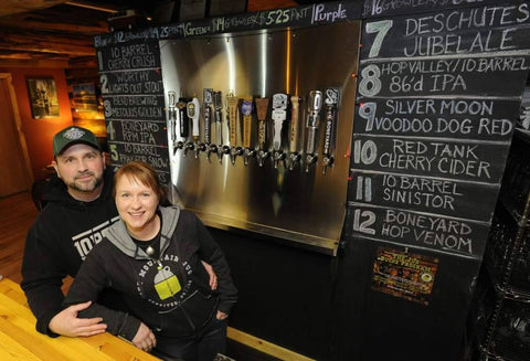 Mountain Jug craft beer and growler fills in Sunriver, Oregon