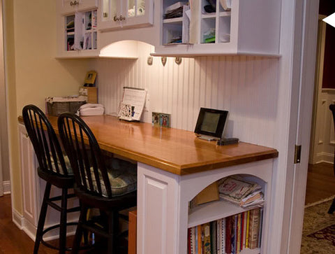 Back to school image of study desk