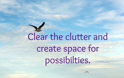 clearing out the clutter image