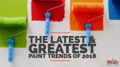The Latest and Greatest Paint Trends of 2018