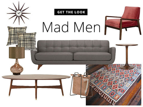 Mad Men Inspired Furniture. Image Of Sofa