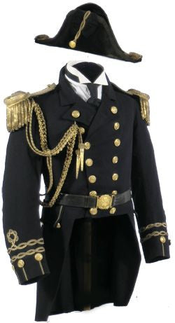image of decorated military uniform