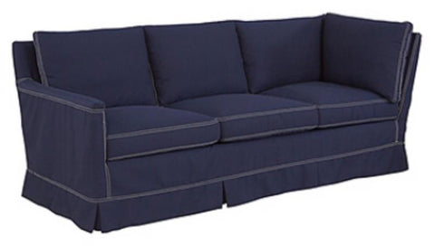 Lee Industries Cornering Sofa Fabric Ionic Khaki Gr G Finish Tobacco Std  Haven Package Standard Small Natural Nails