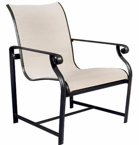 Aegean Sling Dining Chair Finish