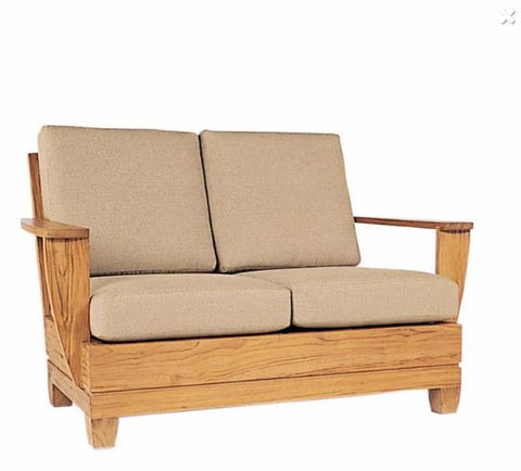 Canyon Loveseat Loose Cushion Set Fabric Frontier