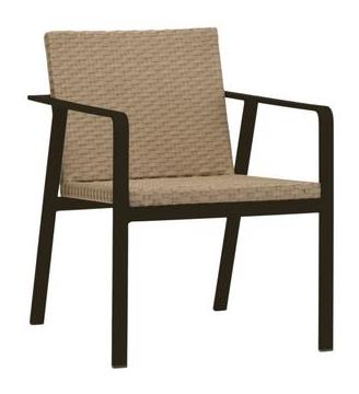 Elements Arm Chair Finish 168 Laurel Top Mc Moca