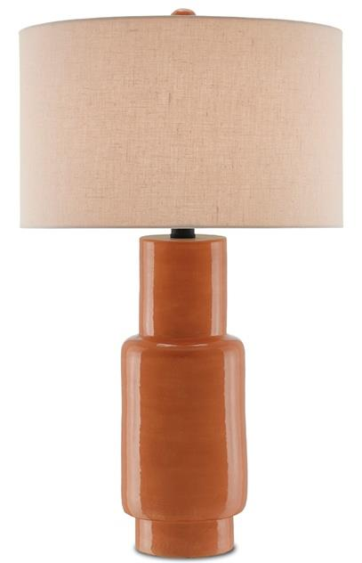 Janeen Table Lamp, Orange