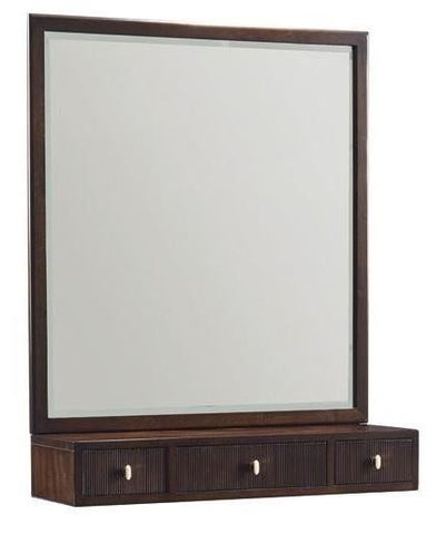 Dress Up Mirror With Storage Drawer