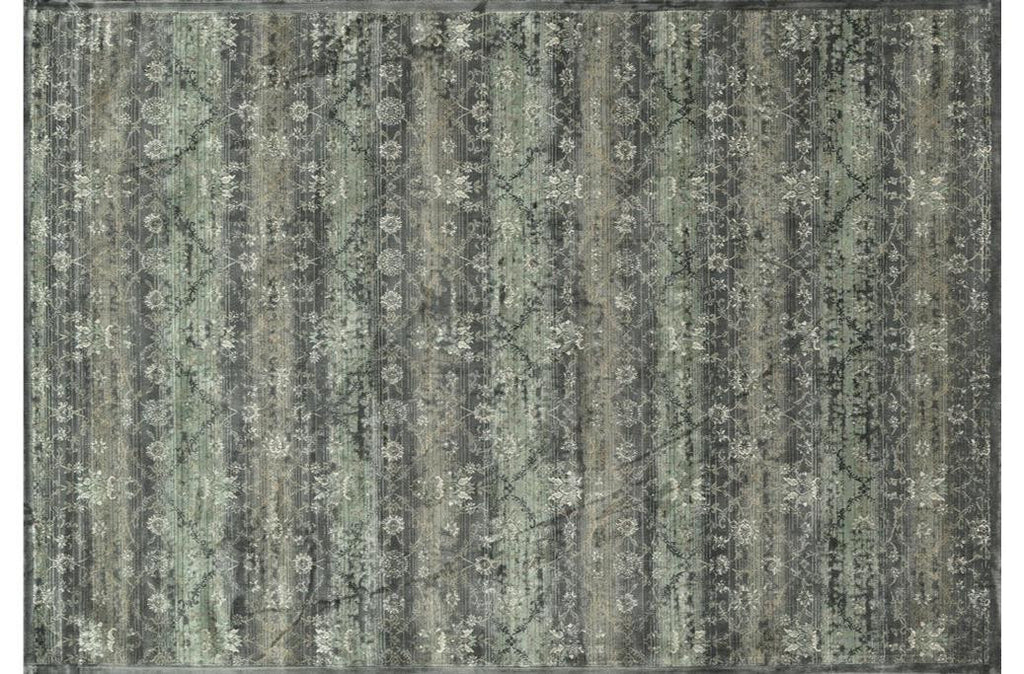 Nyla Charcoal Power Loomed Rug