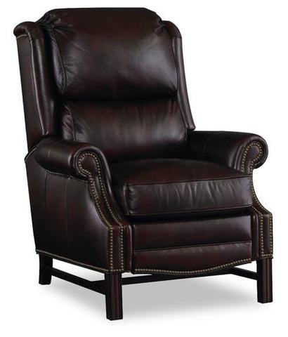 Alta Hi Leg Lounger Leather Savoy Mc-9021-86-F Standard Finish-Mh