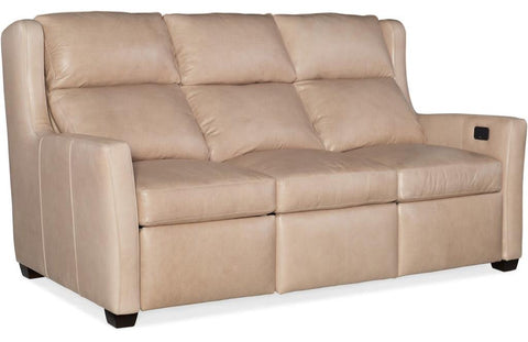 Dixon Sofa Power L And R Reclind And Articulating Headrest Leather 906700-45 Empyrean Admiral Gr L1 Cushion Springdown
