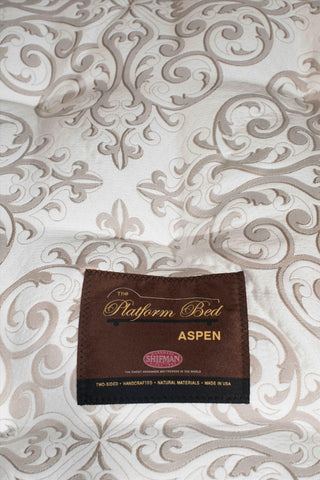 King Aspen Pt Mattress Tick 5237