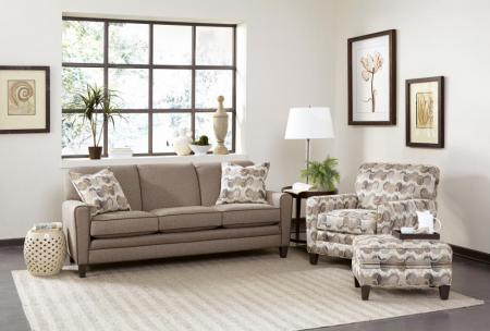 Sofa In 402903 Grd 11 Mocha Finish 2 Ctps In 394003 Style 13 20 Inch